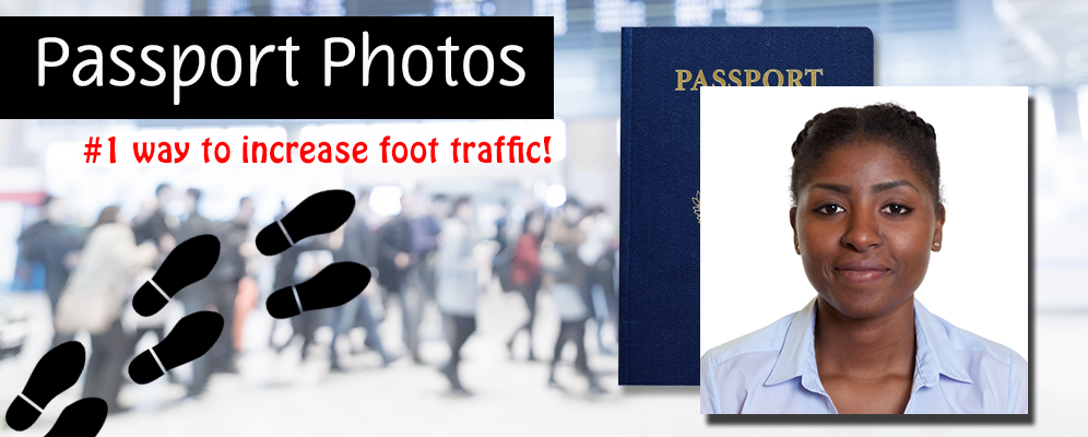 Passport foot traffic