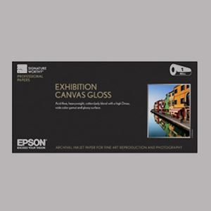 "Picture of Exhibition Canvas Gloss, 17"" x 40'"