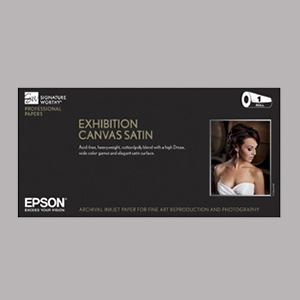 "Picture of Epson Exhibition Canvas Satin, 17"" x 40'"