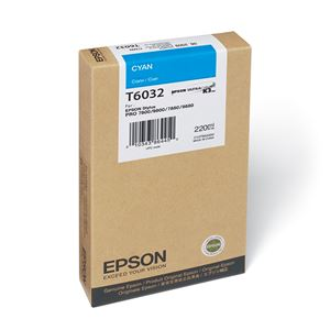 Picture of Epson T603200 UltraChrome K3 Ink 220ml Cyan