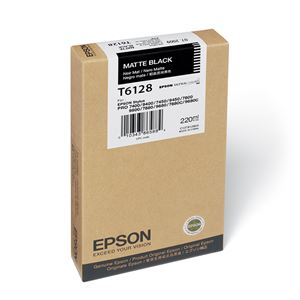 Picture of Epson T611800 UltraChrome K3 Ink 220ml Matte Black