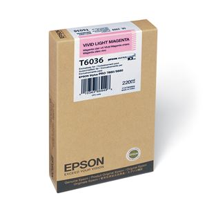 Picture of Epson T603600 UltraChrome K3 Ink 220ml Vivid Light Magenta