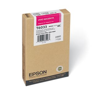 Picture of Epson T603300 UltraChrome K3 Ink 220ml Vivid Magenta