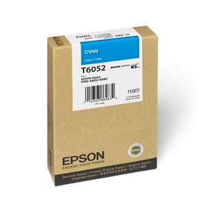Picture of Epson T605200 UltraChrome K3 Ink 110ml Cyan