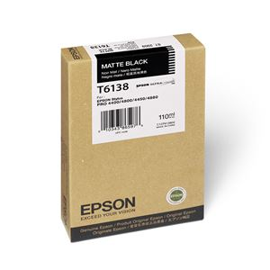 Picture of Epson T543800 UltraChrome Ink 110ml Matte Black