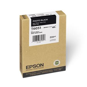 Picture of Epson T606100 UltraChrome K3 Ink 220ml Photo Black