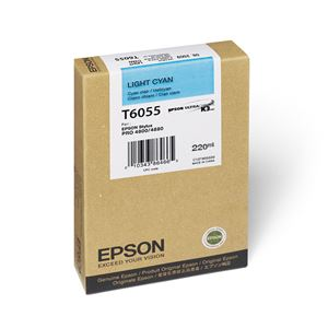 Picture of Epson T606500 UltraChrome K3 Ink 220ml Light Cyan