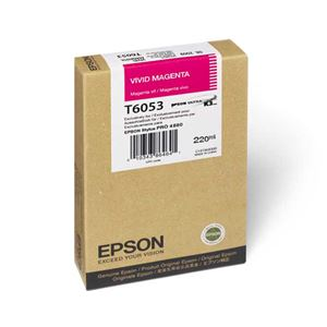 Picture of Epson T606300 UltraChrome K3 Ink 220ml Vivid Magenta