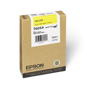 Picture of Epson T606400 UltraChrome K3 Ink 220ml Yellow