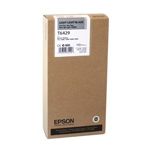Picture of Epson T6429 UltraChrome Ink HDR Ink 150ml Light Light Black