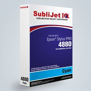 Picture of SubliJet IQ XG 8, Epson 4800, Cyan, 110ml