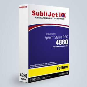 Picture of SubliJet IQ XG 8, Epson 4800, Yellow, 110ml