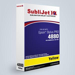Picture of SubliJet IQ XG 8, Epson 4800, Yellow, 110ml