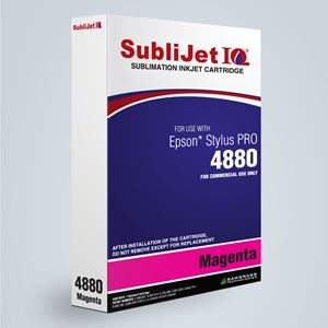 Picture of SubliJet IQ XG 8, Epson 4800, Magenta, 110ml