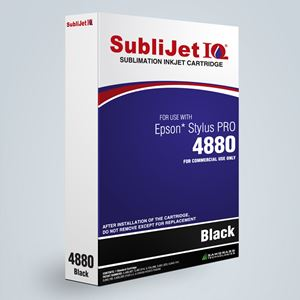 Picture of SubliJet IQ XG 8, Epson 4800, Jet Black, 110ml