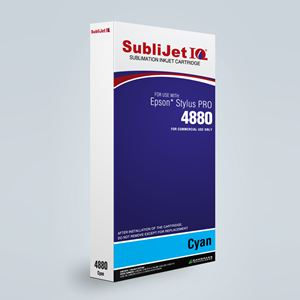 Picture of SubliJet IQ XG 8, Epson 4800, Cyan, 220ml