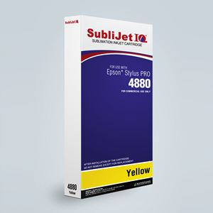 Picture of SubliJet IQ XG 8, Epson 4800, Yellow, 220ml