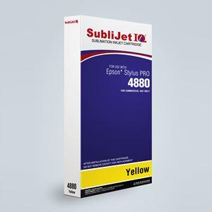 Picture of SubliJet IQ XG 8, Epson 4800, Yellow, 220ml