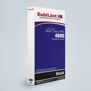 Picture of SubliJet IQ XG 8, Epson 4800, Jet Black, 220ml