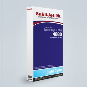 Picture of SubliJet IQ XG 8, Epson 4800, Light Cyan, 220ml