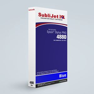 Picture of SubliJet IQ XG 8, Epson 4800, Blue, 220ml