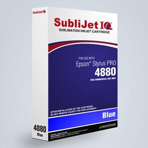 Picture of SubliJet IQ XG 8, Epson 4800, Blue, 110ml