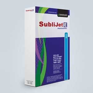 Picture of SubliJet-E, Epson 700 & 890 Series, Cyan, 350ml
