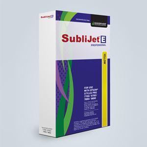 Picture of SubliJet-E, Epson 700 & 890 Series, Yellow, 350ml