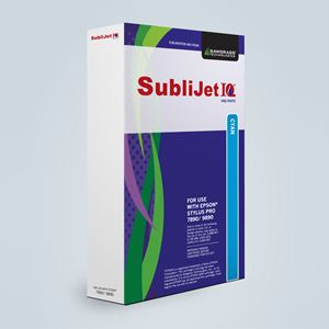 Picture of SubliJet IQ Pro Photo, Epson 7890/9890, Cyan (Pos 1), 350ml