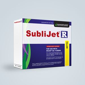Picture of SubliJet-R, Ricoh SG 7100DN, Yellow, 60ml