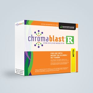 Picture of Chromablast-R, Ricoh SG 3110 DN/7100DN, Yellow, 29ml