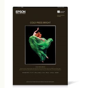 "Picture of Epson Cold Press Bright, 13"" x 19"", 25/sheets"