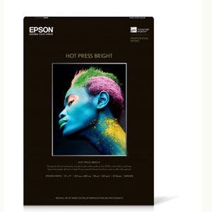 """Picture of Hot Press Bright, 8.5"""" x 11"""", 25/sheets"""