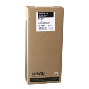 Picture of Epson T596100 UltraChrome HDR Ink 350ml Photo Black