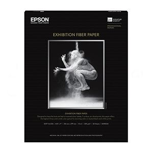 "Picture of Epson Exhibition Fiber, 13"" x 19"", 25/sheets"