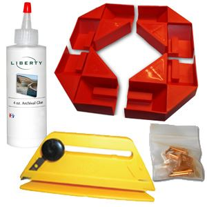 Picture of Pro Gallery Wrap Corner Kit (includes trimmer)
