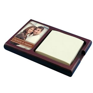 Picture of Sticky Note Holder, Mahogany