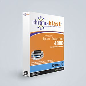 Picture of ChromaBlast, Epson 4880, Cyan (Pos 2), 110ml