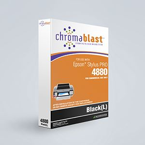 Picture of ChromaBlast, Epson 4880, Black (Pos 1), 110ml