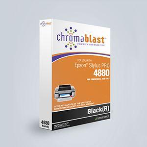 Picture of ChromaBlast, Epson 4880, Black (Pos 5), 110ml