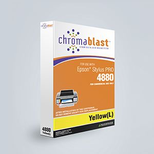 Picture of ChromaBlast, Epson 4880, Yellow (Pos 4), 110ml