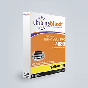 Picture of ChromaBlast, Epson 4880, Yellow (Pos 8), 110ml