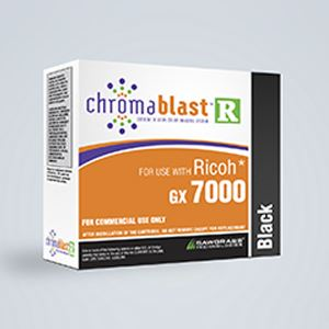 Picture of ChromaBlast-R, Ricoh GX 7000, Black, 68ml