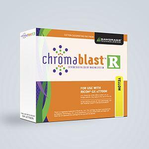 Picture of Chromablast-R, Ricoh GX e7700N, Yellow, 60ml