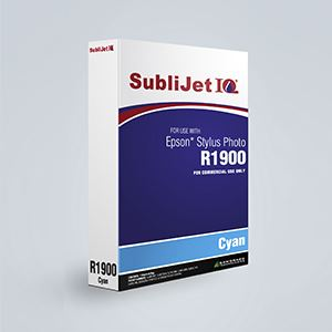 Picture of SubliJet IQ XG 8, Epson R1900, Cyan, 110ml, Refill Bag