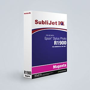 Picture of SubliJet IQ XG 8, Epson R1900, Magenta, 110ml, Refill Bag