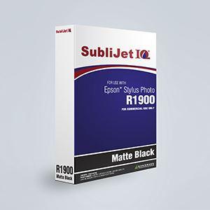 Picture of SubliJet IQ XG 8, Epson R1900, Matte Black, 110ml, Refill Bag