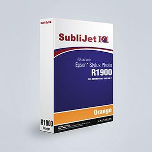 Picture of SubliJet IQ XG 8, Epson R1900, Orange, 110ml, Refill Bag