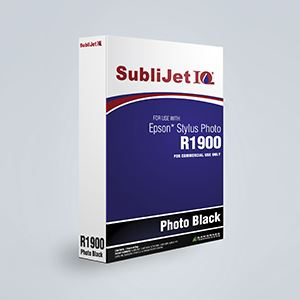 Picture of SubliJet IQ XG 8, Epson R1900, Photo Black, 110ml, Refill Bag
