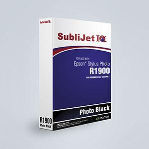 Picture of SubliJet IQ XG 8, Epson R1900, Photo Black, 110ml, Refill Bag